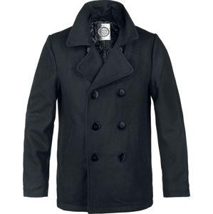 RED by EMP Pea Coat bunda černá