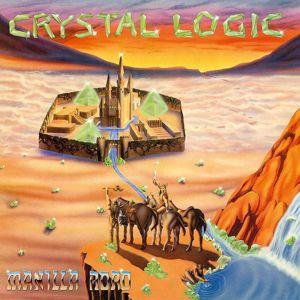 Manilla Road Crystal logic LP potřísněné