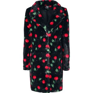 Pussy Deluxe Kabát Cherry Bomb Dívcí kabát černá