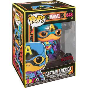 Marvel Vinylová figurka č. 648 Black Light - Captain America Sberatelská postava standard