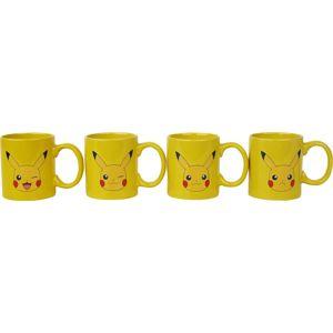 Pokémon Sada šálek na espresso Pikachu Hrnek - sada vícebarevný