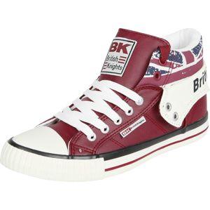 British Knights Roco Union Jack tenisky červená