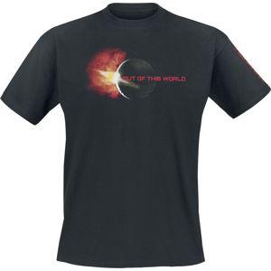 NASA Sunset tricko černá