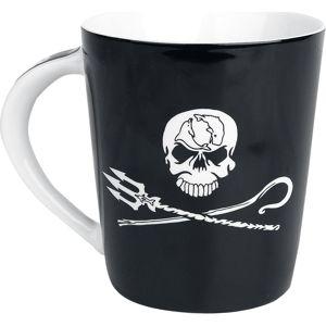 Sea Shepherd Jolly Roger Hrnek cerná/bílá