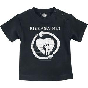 Rise Against Heart Fist Baby detská košile černá
