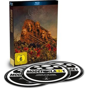 Opeth Garden of the titans (Live at Red Rocks Amphitheater) Blu-ray & 2-CD standard