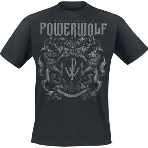 Powerwolf Crest - Metal Is Religion tricko černá