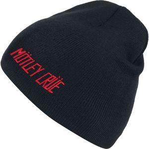 Mötley Crüe Logo Beanie čepice černá