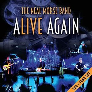 The Neal Morse Band Alive again 2-CD & DVD standard