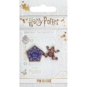 Harry Potter Schokofrosch Sada odznaků zlatá