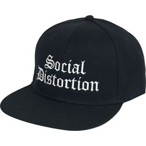 Social Distortion Old English Logo - Snapback Cap kšiltovka černá