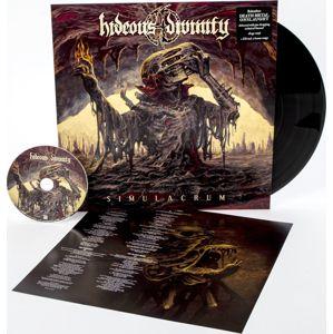 Hideous Divinity Simulacrum LP & CD černá