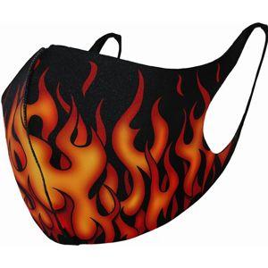Spiral Tribal Flames maska černá
