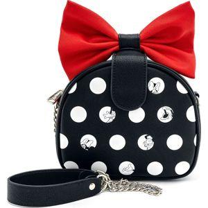 Mickey & Minnie Mouse Loungefly - Minnie Taška pres rameno cerná/cervená/bílá