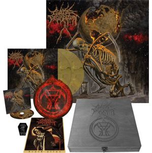 Cattle Decapitation Death atlas CD & 2-LP & 7 inch standard