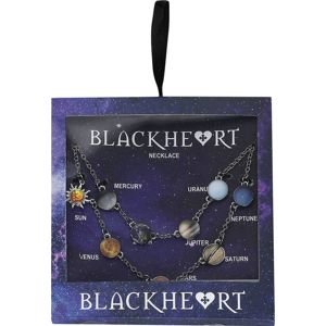 Blackheart Sluneční soustava Náhrdelník - řetízek vícebarevný