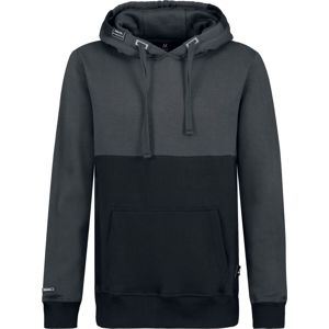 Sublevel Men's Hooded Sweatshirt mikina s kapucí na zip antracitová/cerná