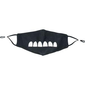 Grumpfi maska cerná/bílá