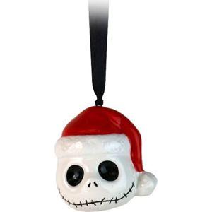 The Nightmare Before Christmas Jack Skellington Vánocní ozdoba - koule bílá/cerná/cervená
