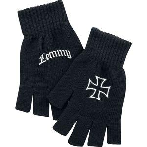Motörhead Lemmy rukavice bez prstu černá