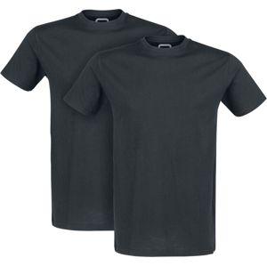 RED by EMP Doppelpack T-Shirts mit Rundhalsausschnitt tricko černá