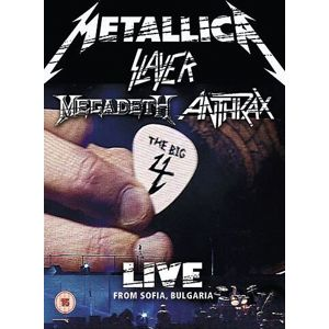Big 4, The: Metallica, Slayer, Megadeth, Anthrax Live from Sofia Bulgaria 2-DVD standard