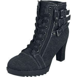 Black Premium by EMP Ivy Vysoké podpatky černá