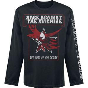 Rage Against The Machine Cost Desires Eagle tricko s dlouhým rukávem černá