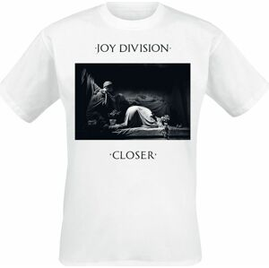 Joy Division Closer Tričko bílá