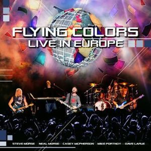 Flying Colors Live in Europe 2-CD standard
