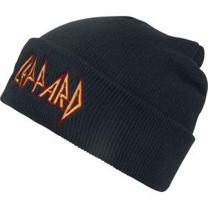 Def Leppard Logo - Beanie Beanie čepice černá