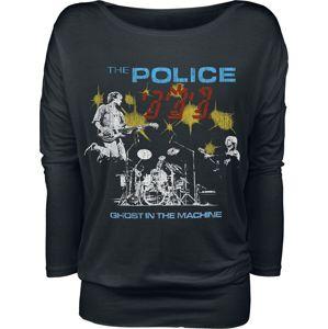 The Police Ghost In The Machine dívcí triko s dlouhými rukávy černá