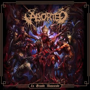 Aborted La grande mascarade EP-CD standard