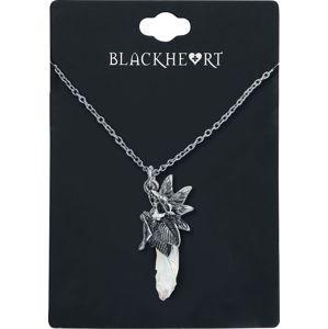 Blackheart Märchenfee Náhrdelník - řetízek stríbrná