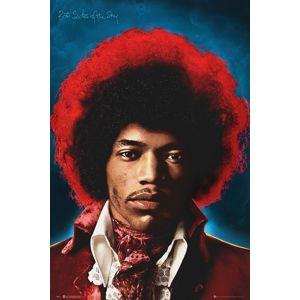 Jimi Hendrix Both sides of the sky plakát vícebarevný