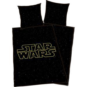 Star Wars Star Wars Logo Ložní prádlo cerná/žlutá
