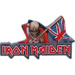 Iron Maiden The Trooper Magnetka na lednici standard