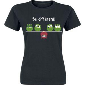 Be Different! dívcí tricko černá
