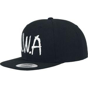 N.W.A Logo - Snapback Cap kšiltovka černá