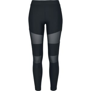 Urban Classics Ladies Tech Mesh Rib Leggings Leginy černá