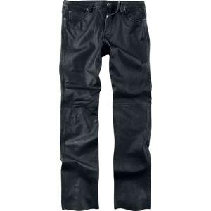 Gipsy GBJeans LNTV Kožené kalhoty černá