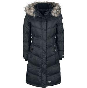 Khujo Lubek Long 3 Dívcí kabát černá