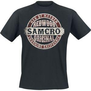 Sons Of Anarchy Samcro Original tricko černá