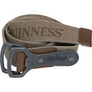 Guinness Logo + Harfe Opasky hnědá