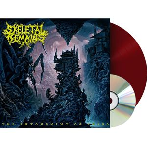 Skeletal Remains The entombment of chaos LP & CD standard