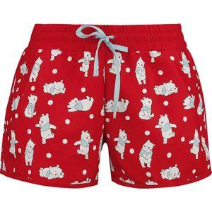 Winnie The Pooh Dots pánské plavky červená