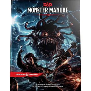 Dungeons and Dragons Monster Manual Hra standard