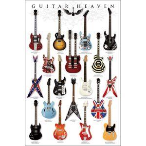 Guitar Heaven plakát vícebarevný