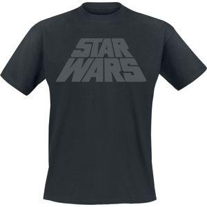 Star Wars Logo tricko černá
