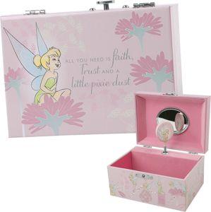 Peter Pan Tinker Bell - Schmuckbox mit Spieluhr organizér na šperky standard